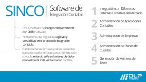 Software de integración contable | Sinco Software