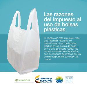 Impuesto nacional al consumo de la bolsa plastica